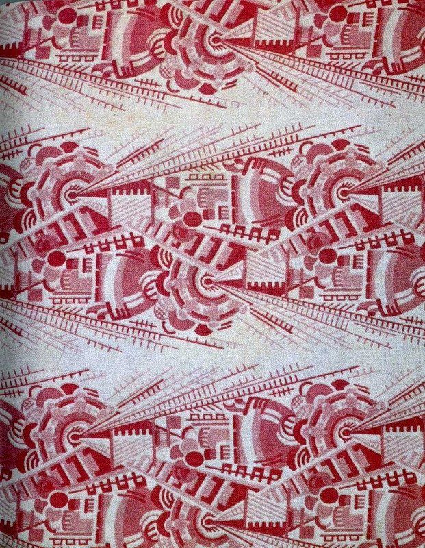 Soviet Textiles: Wearable Propaganda To see more, visit http://www.russianfashionblog.com/index.php/2012/06/soviet-textiles-wearable-propaganda/#