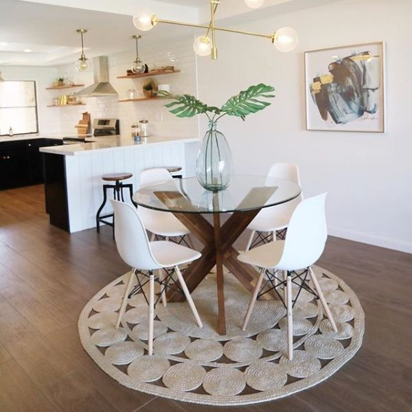 Simon Java X Dining Table Base Rumah Furniture Dekorasi Rumah