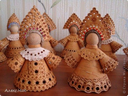 Куклы Вырезание Амурские красавицы Береста фото 2