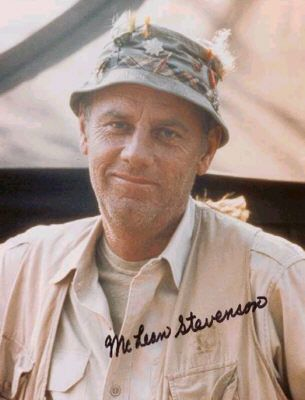 McLean Stevenson, 1927-1996 Died at age 68 of a heart attack. Best known for his role as Lt. Colonel Henry Blake on the TV series Mash.