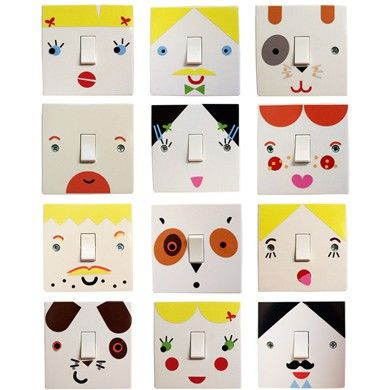 DIY or buy: Light switch stickers, from The Pippa and Ikea Show