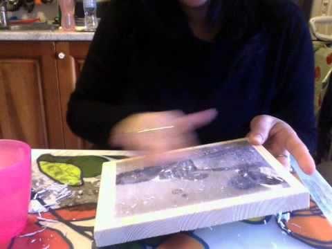 come trasferire un immagine su legno o tela