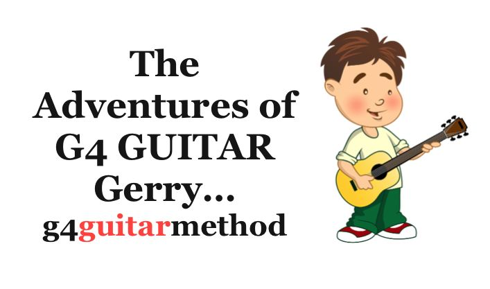 Gerry is G4 Guitar's very own mascot. He inspires our younger students.