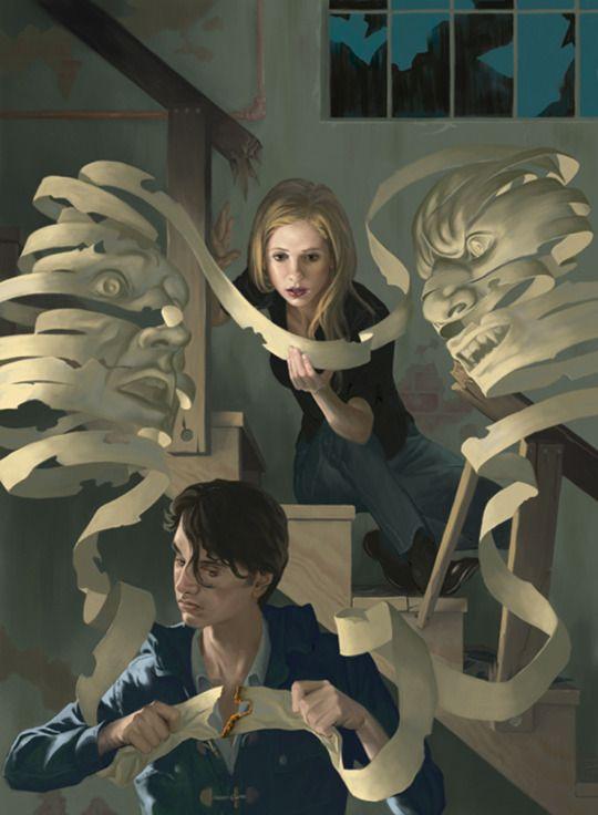 Buffy The Vampire Slayer Season 9 Steve Morris Cover