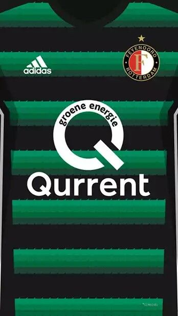 Feyenoord Rotterdam 17-18 kit away