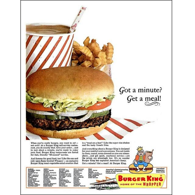 123 best images about Burger King history on Pinterest ...