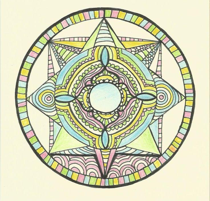 Přání - mandala harmonie