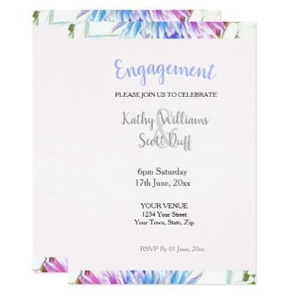 Best 25+ Engagement invitation template ideas on Pinterest Diy - engagement invitation templates free printable