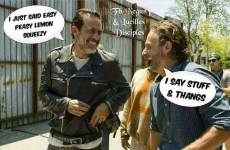 The Walking Dead #Negan #Rick #TWD