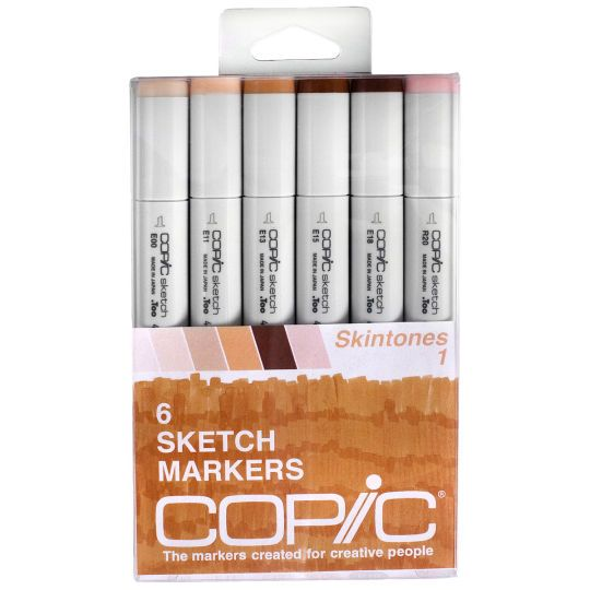<div><div>This 6-piece Sketch set is the perfect way to begin building your marker collection. C...
