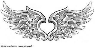 Angel wing ankle tattoo   On my back