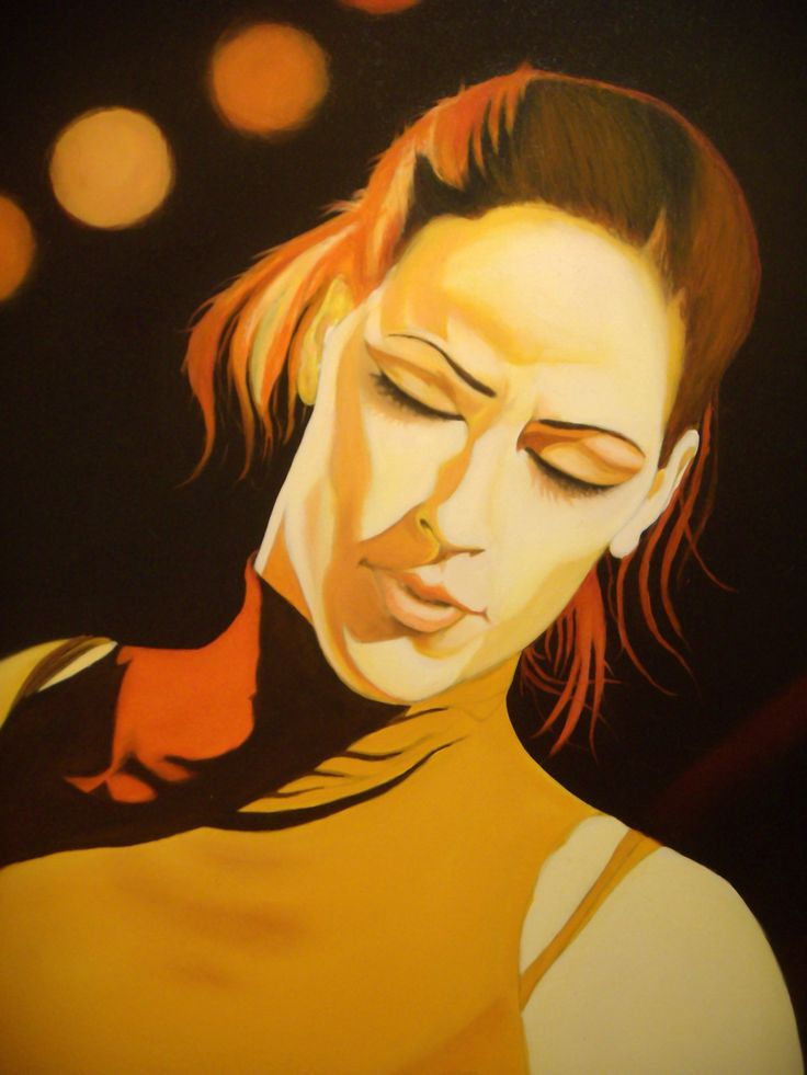 """Silvia"" (particolare) oil on canvas Alessio Atzeni"