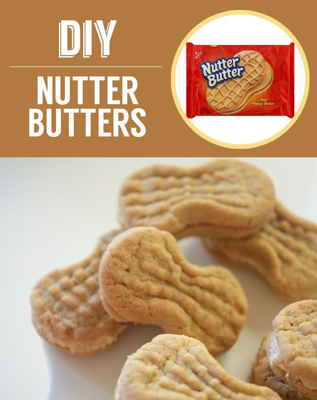 Homemade Nutter Butters | 27 Classic Snacks You'll Never Have To Buy ...