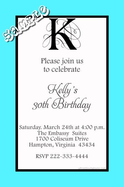 211 best Adult Birthday Party Invitations images on Pinterest - create invitations online free no download