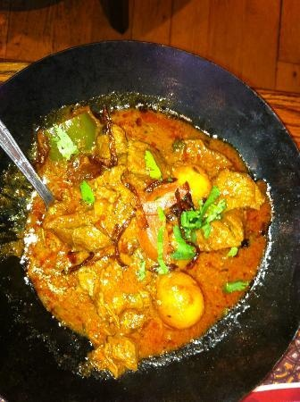 Tayyab's. Pakistani cuisine near Whitechapel and Algate. By far the best South Asian food I've ever had.
