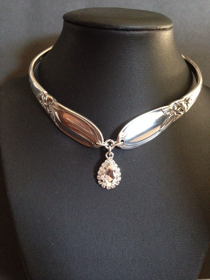 25 Best Ideas About Silverware Jewelry On Pinterest