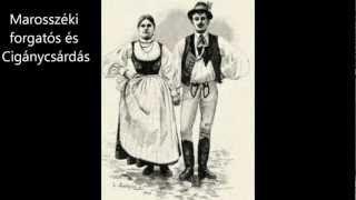 marosszéki forgatós muzsikás - YouTube