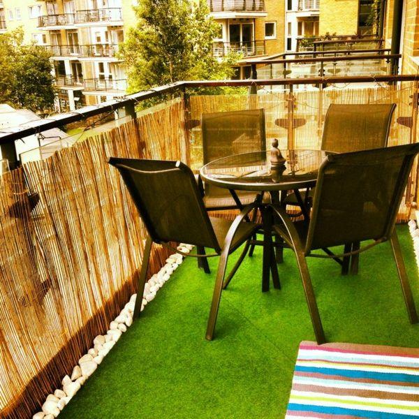 Počet Nápadov Na Tému Bambus Balkon Na Pintereste: 17 Najlepších ... Bambus Balkon Sichtschutz