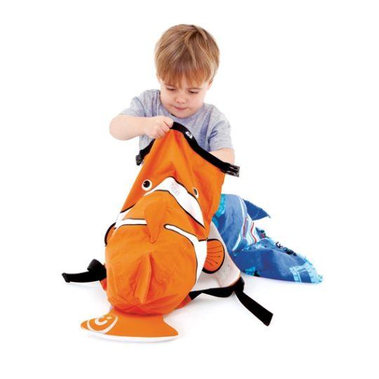 Trunki PaddlePak Sırt Çantası Palyaço Balığı - Chuckles #sırtçantası #çocukçantası #backpack #paddlepak #trunki
