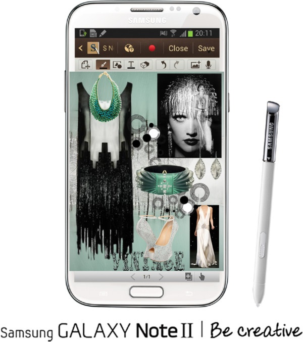 """""""Create a Downtown Muse look for a chance to win a Samsung GALAXY Note II!"""" by kathy-szubota ❤ liked on Polyvore"""
