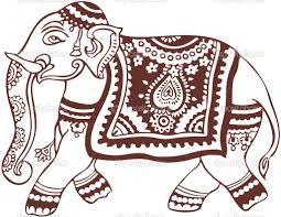 indian elephant drawing - Buscar con Google