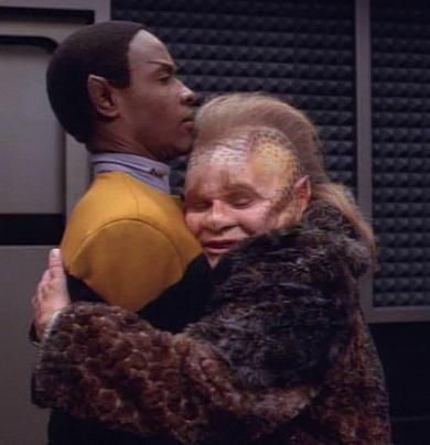 Tuvok & Neelix baha yes. this describes their relationship as a whole!