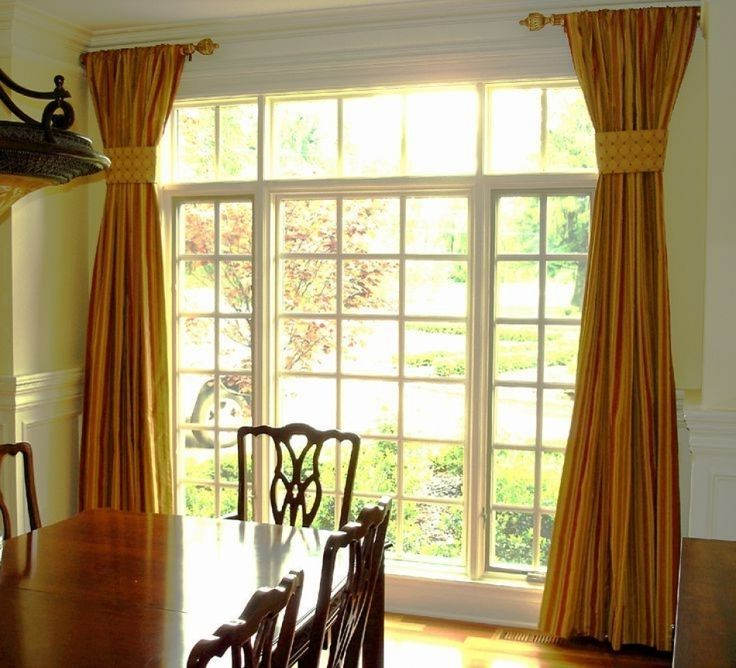 25+ best short curtain rods ideas on pinterest | round dining room