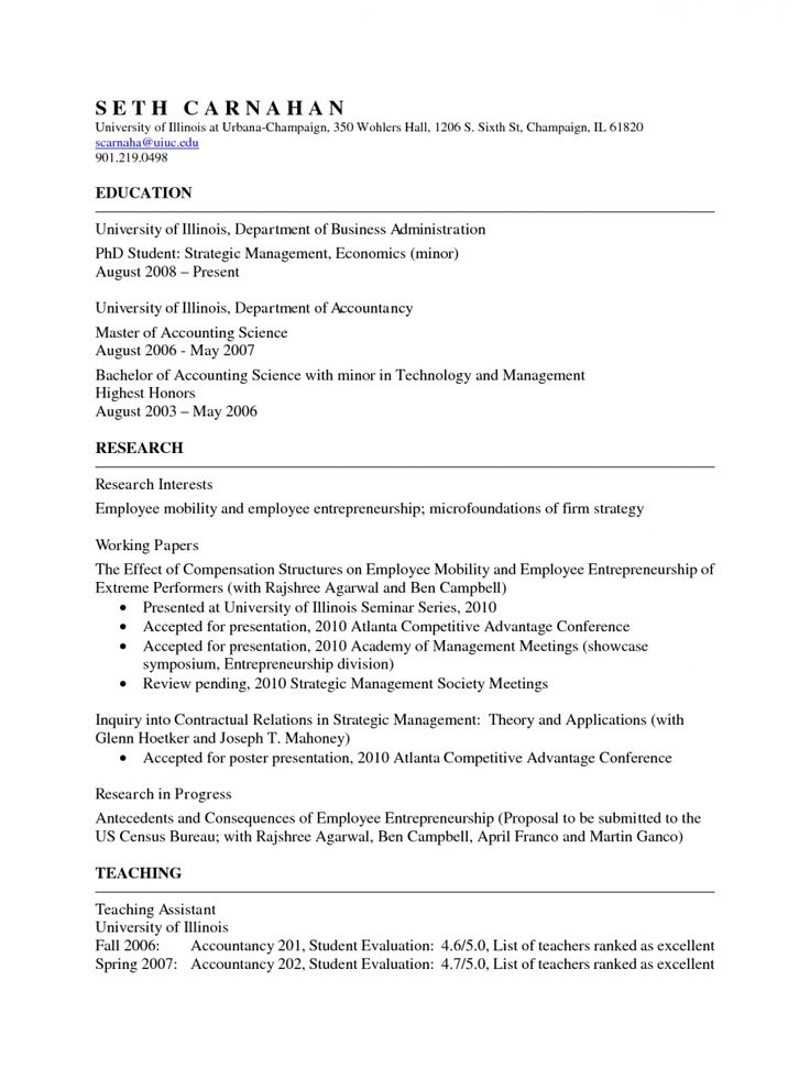 16 best Resume images on Pinterest Career, Resume templates and - research scientist resume