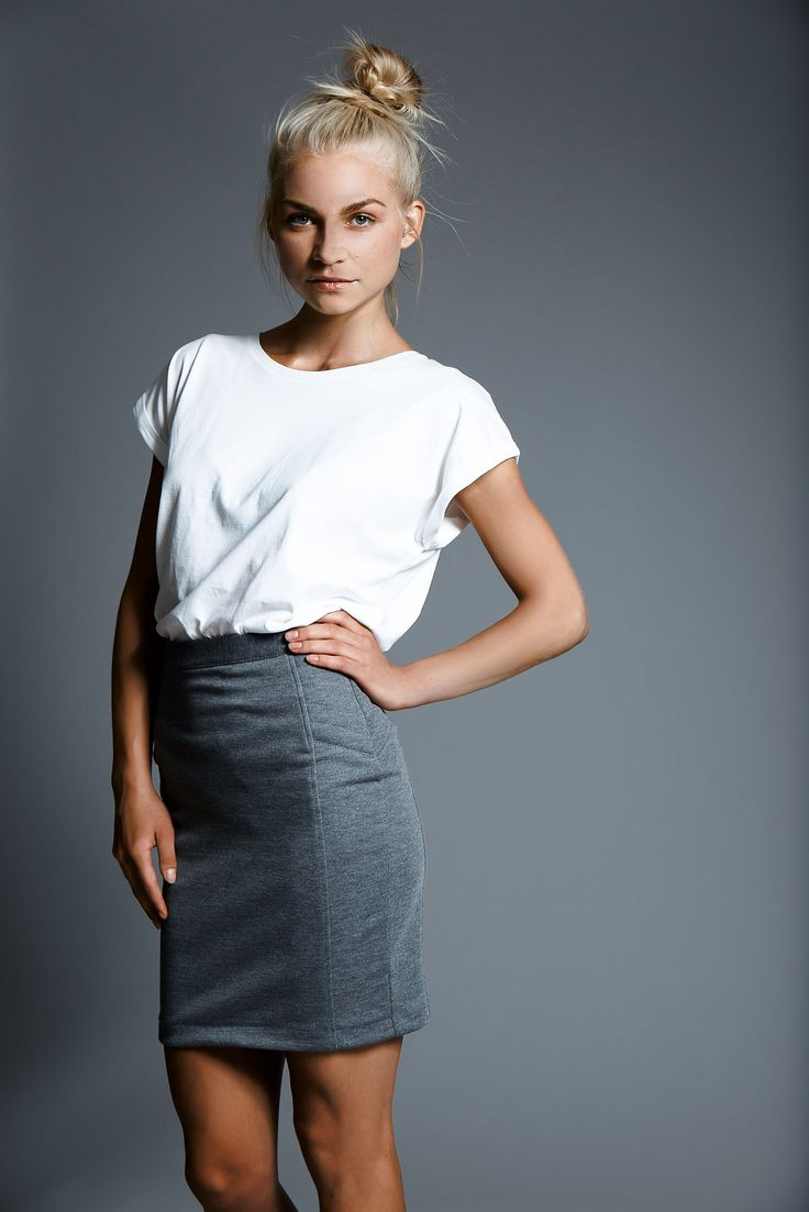 Go strong with this grey skirt from STYLEPIT AW14
