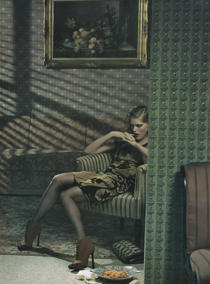 "Direction Reference [Iselin Steiro by Steven Meisel ""Desperate Housewife""]"