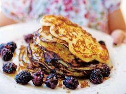 Amerikanska pannkakor med blåbär (kock Tove Nilsson)