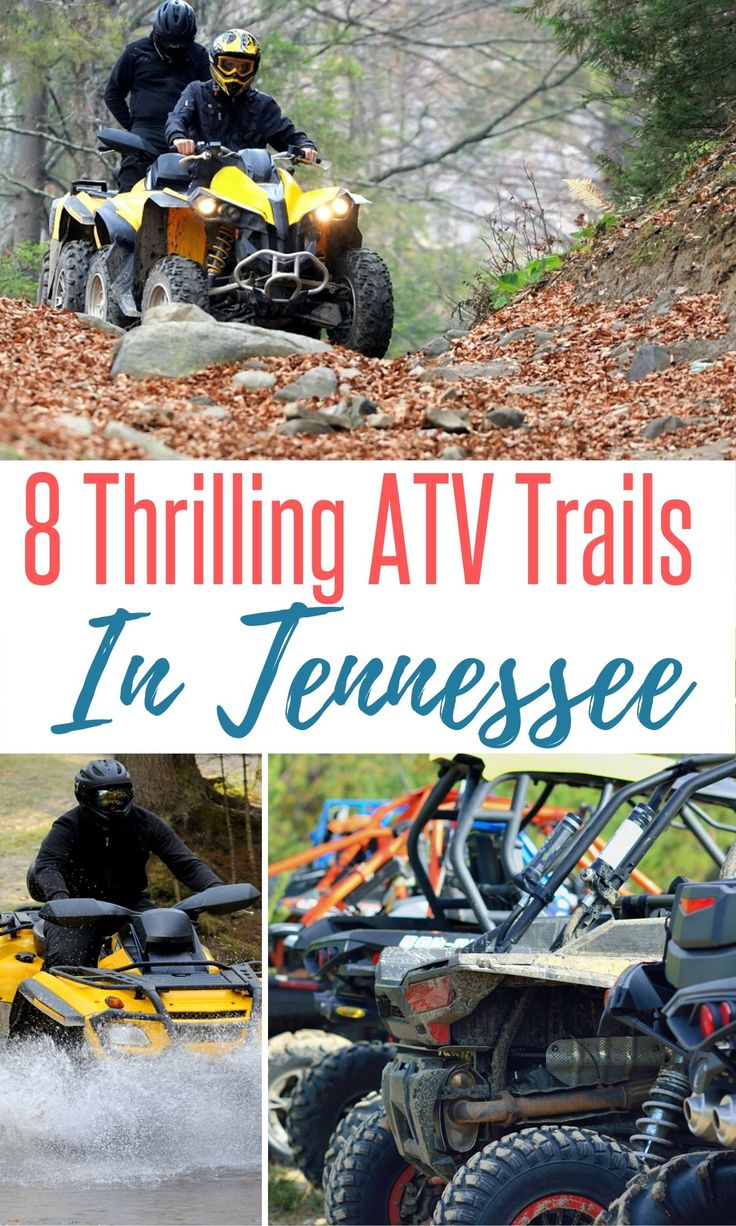 8 Thrilling ATV Trails In Tennessee Tennessee, Atv
