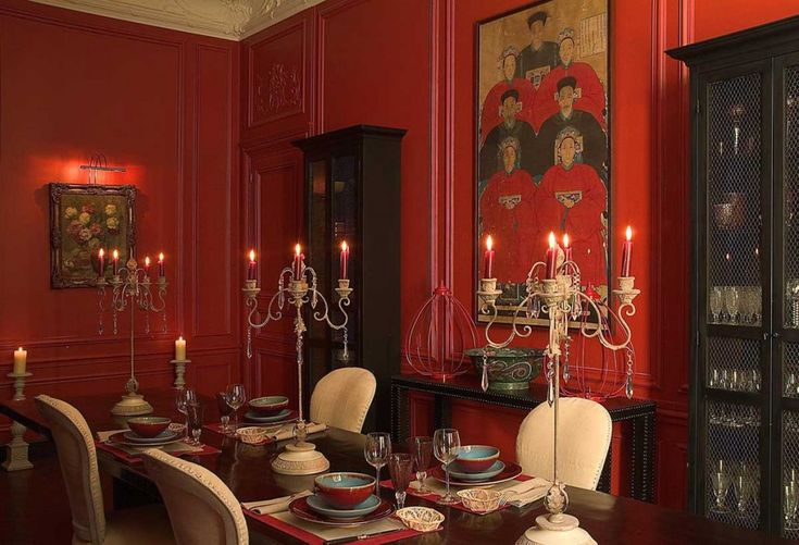Red Dining Room Accessories: 1000+ Ideas About Red Dining Rooms On Pinterest