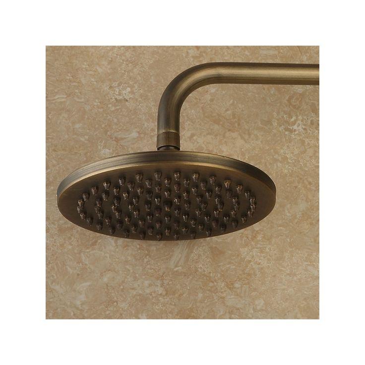 Achetez Laiton antique mitigeur montage mural pluie + robinet de douche de poche avec le Meilleur Prix et le Meilleur Service!