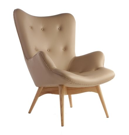 Replica Grant Featherston Contour Lounge Chair  - Leather main image