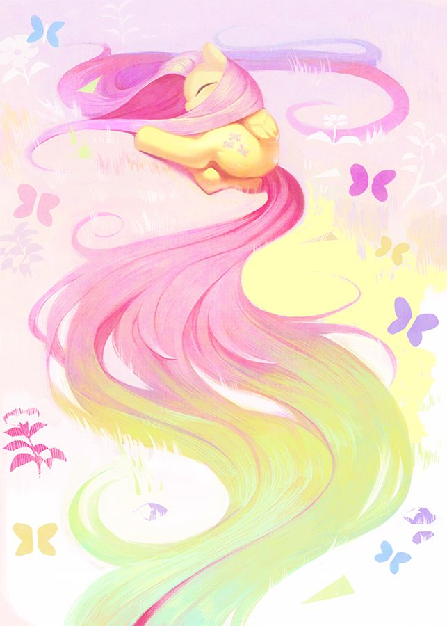 Fluttershy by artist? ||| My Little Pony: Friendship is Magic, pegasus, kindness