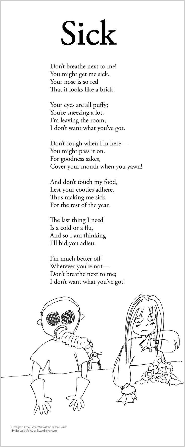 Do Rhyme Poems Not Silverstein Shel