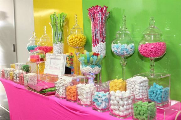Quinceanera Candy Bar Ideas