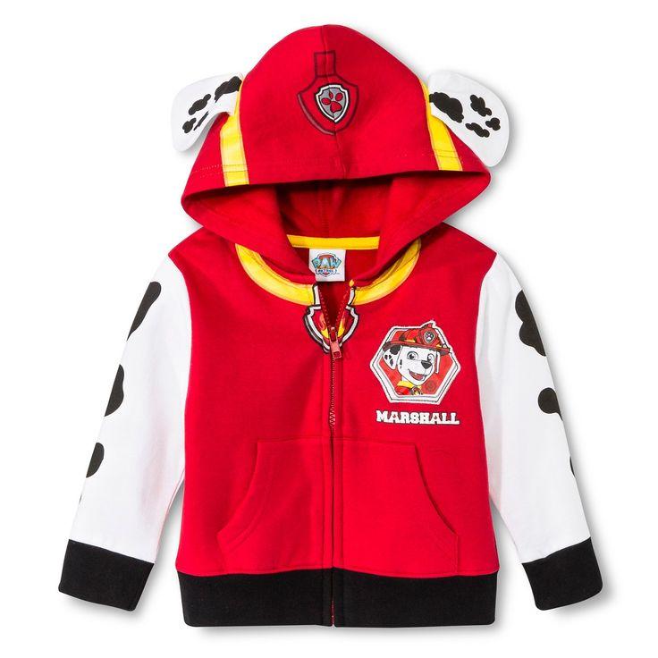Toddler Boys� Paw Patrol Marshall Sweatshirt - Red