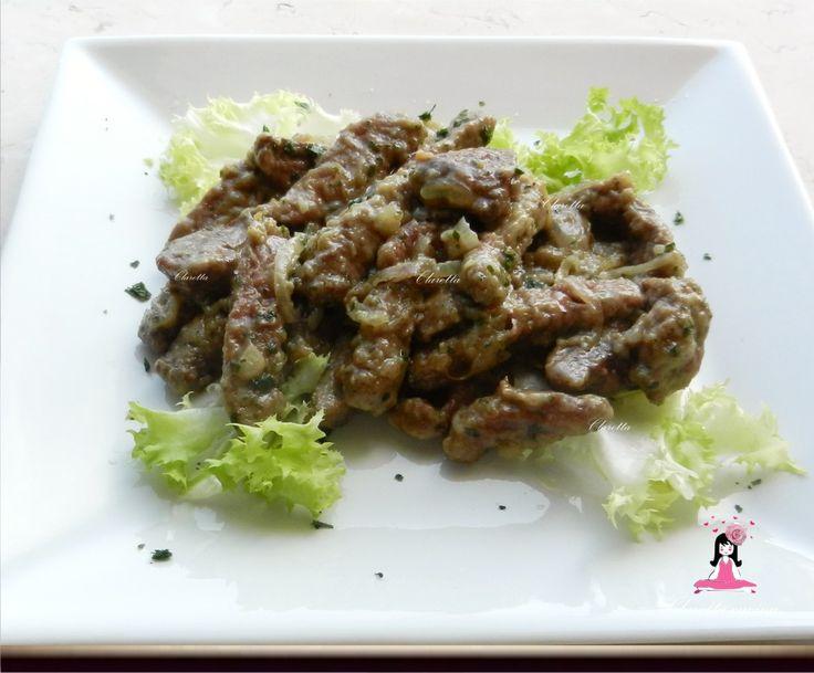 Fegato alla veneziana, Ricette carne, 348