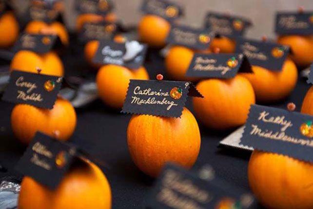 Вдохновение: свадьба в тематике праздника Хэллоуин
