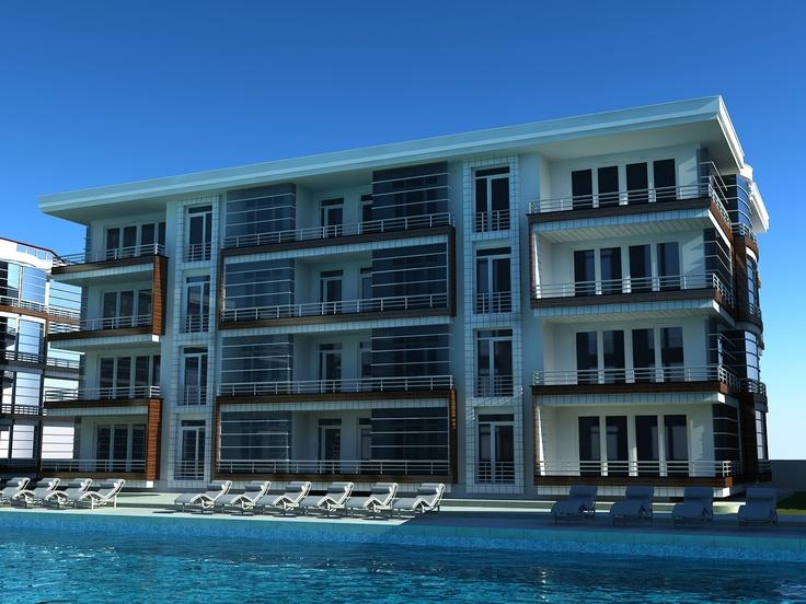 Botanik bahçe ve parkları ve su oyun havuzları da projede yer alacak.