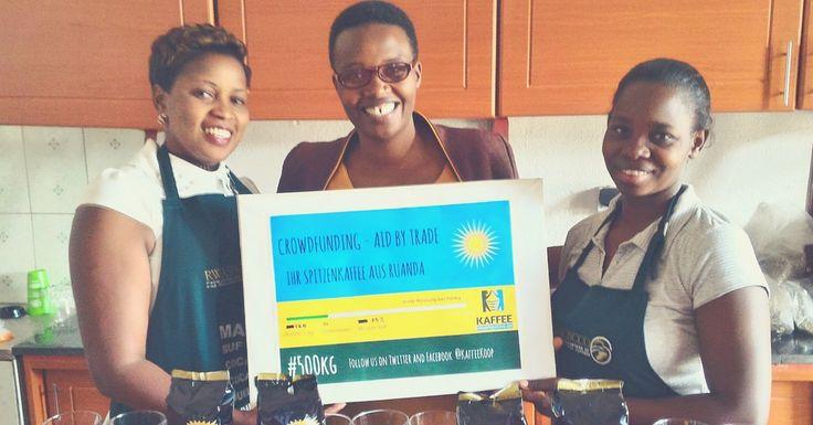 Die Musasa Ladies von der Quality Control sind begeistert vom raschen Fortschritt der Crowdfunding-Aktion