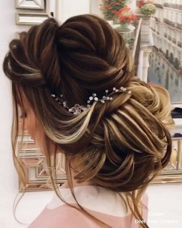 Top 20 Long Wedding Hairstyles And Updos For 2018: 20 Best Formal / Wedding Hairstyles To Copy In 2019