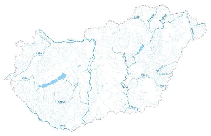 Magyarország folyói