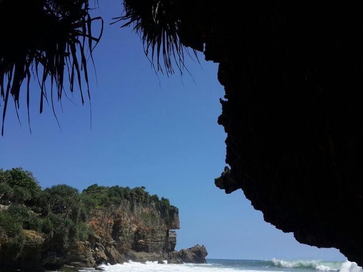 Pantai Ngobaran in Gunung Kidul, Jogja