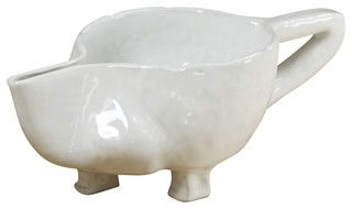 Handmade Gravy Boat - contemporary - serveware - by Montes Doggett not as photogenic as real life.