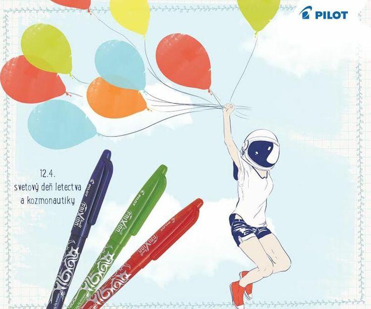 Vzlietnite s nami a oslávte svetový deň letectva a kozmonautiky :)