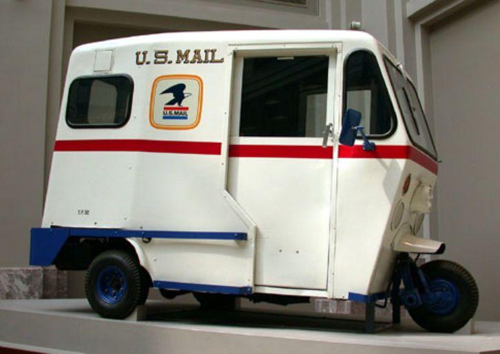 grumman postal vehicles autos post. Black Bedroom Furniture Sets. Home Design Ideas