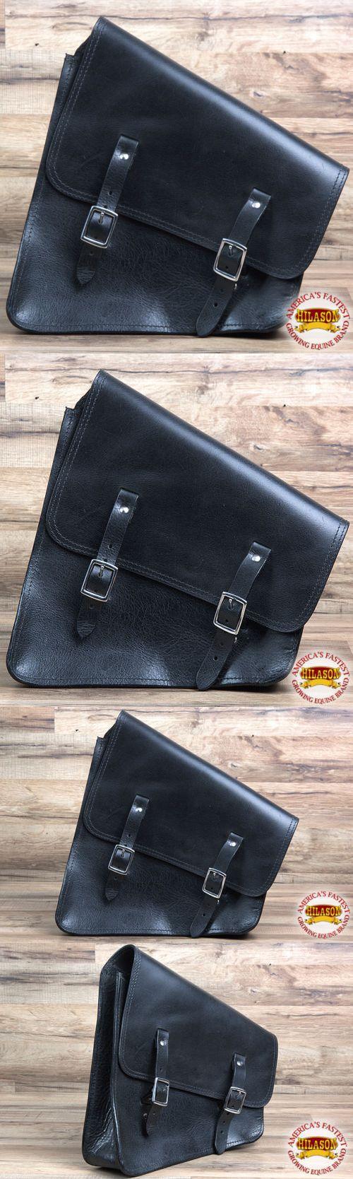 Saddle Bags 47300: Hs901-F Hilason Western Leather Cowboy Trail Ride Horse Saddle Bag Black -> BUY IT NOW ONLY: $124.99 on eBay!